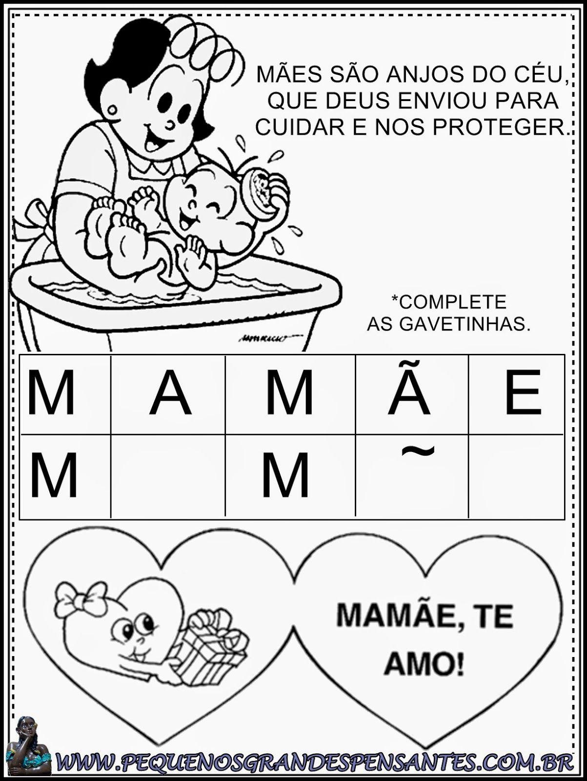 Atividades Para O Dia Das Maes Educacao Infantil Com Imagens