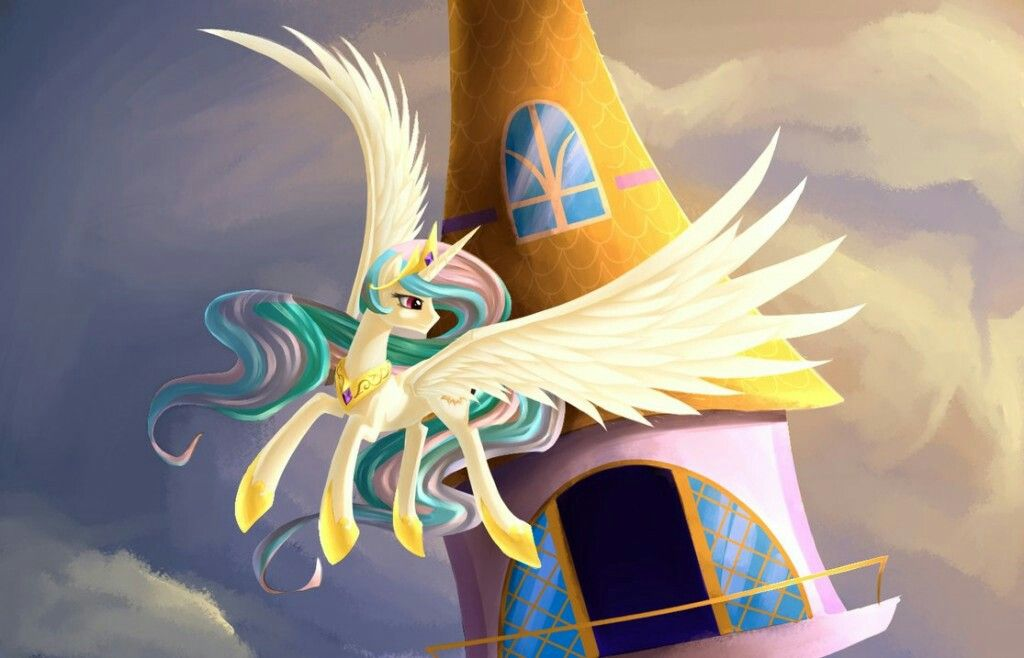 Картинки принцессы селестии из мультика май литл пони