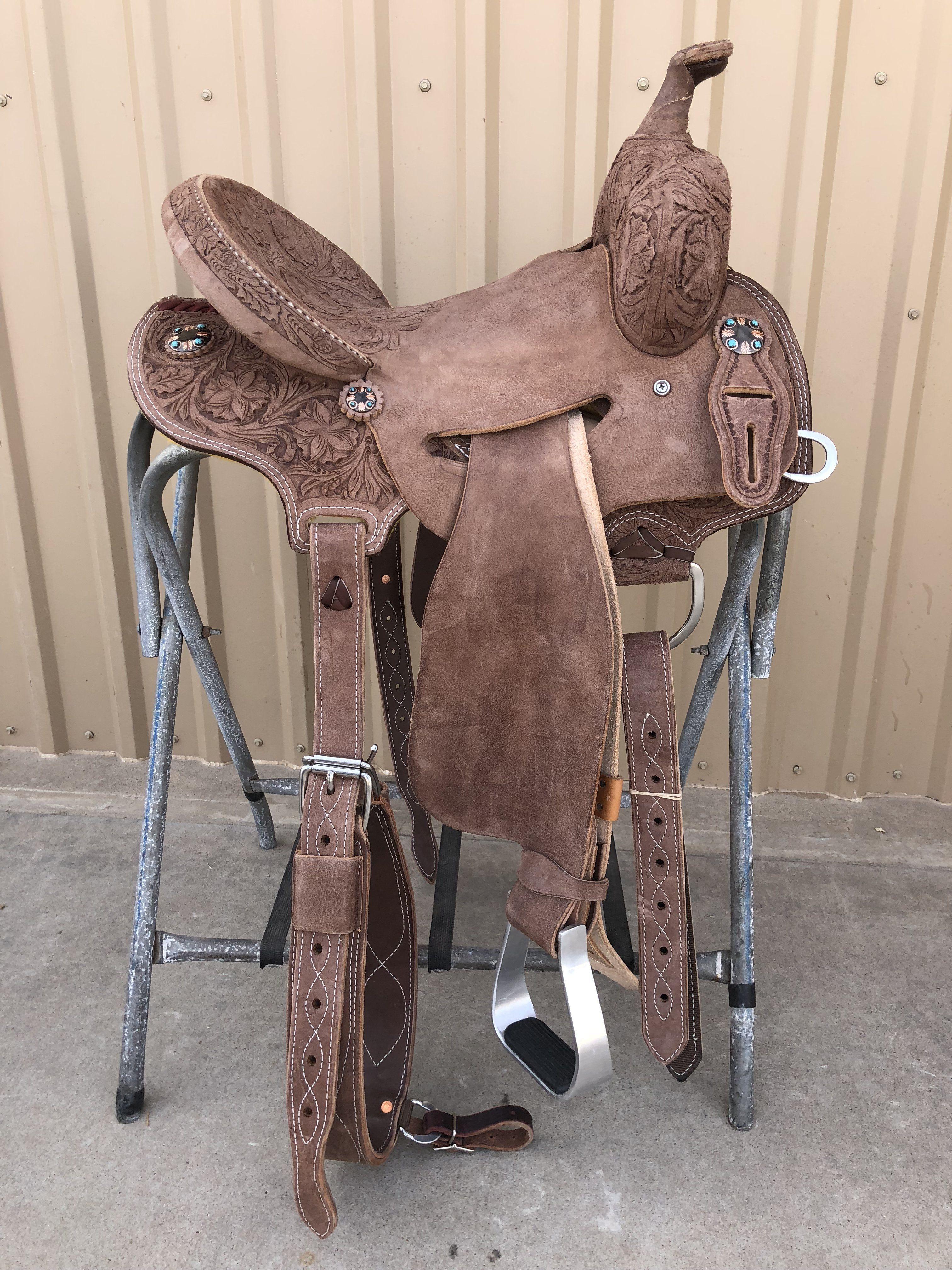 CSB 576A Corriente Strip Down Barrel Saddle   tack   Barrel saddle
