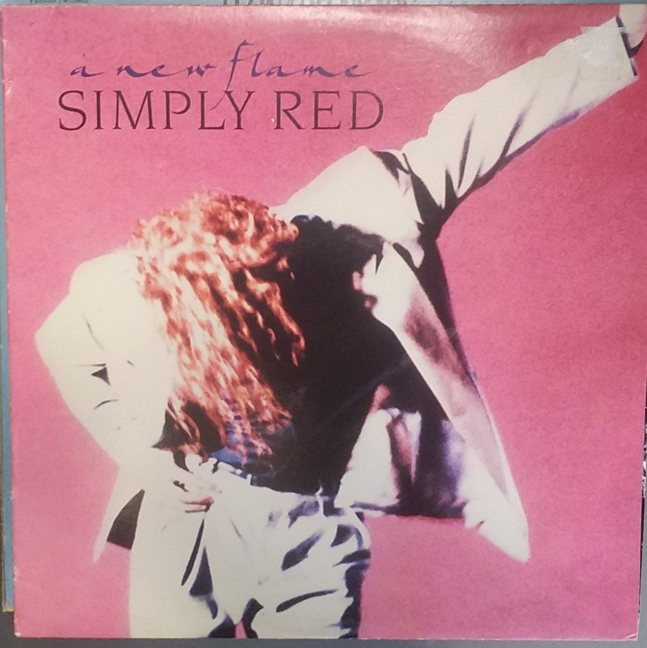 Simply Red A New Flame Vintage Record Album Vinyl Lp Classic 1980 S Blues Rock Blue Eyed Soul British Blues Rock Simply Red Music History Pop Rock Music