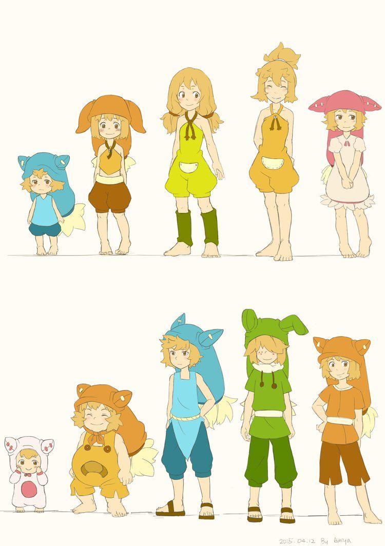 Wakfu Anime Character Design : Wakfu season eliatrop people by a Вакфу