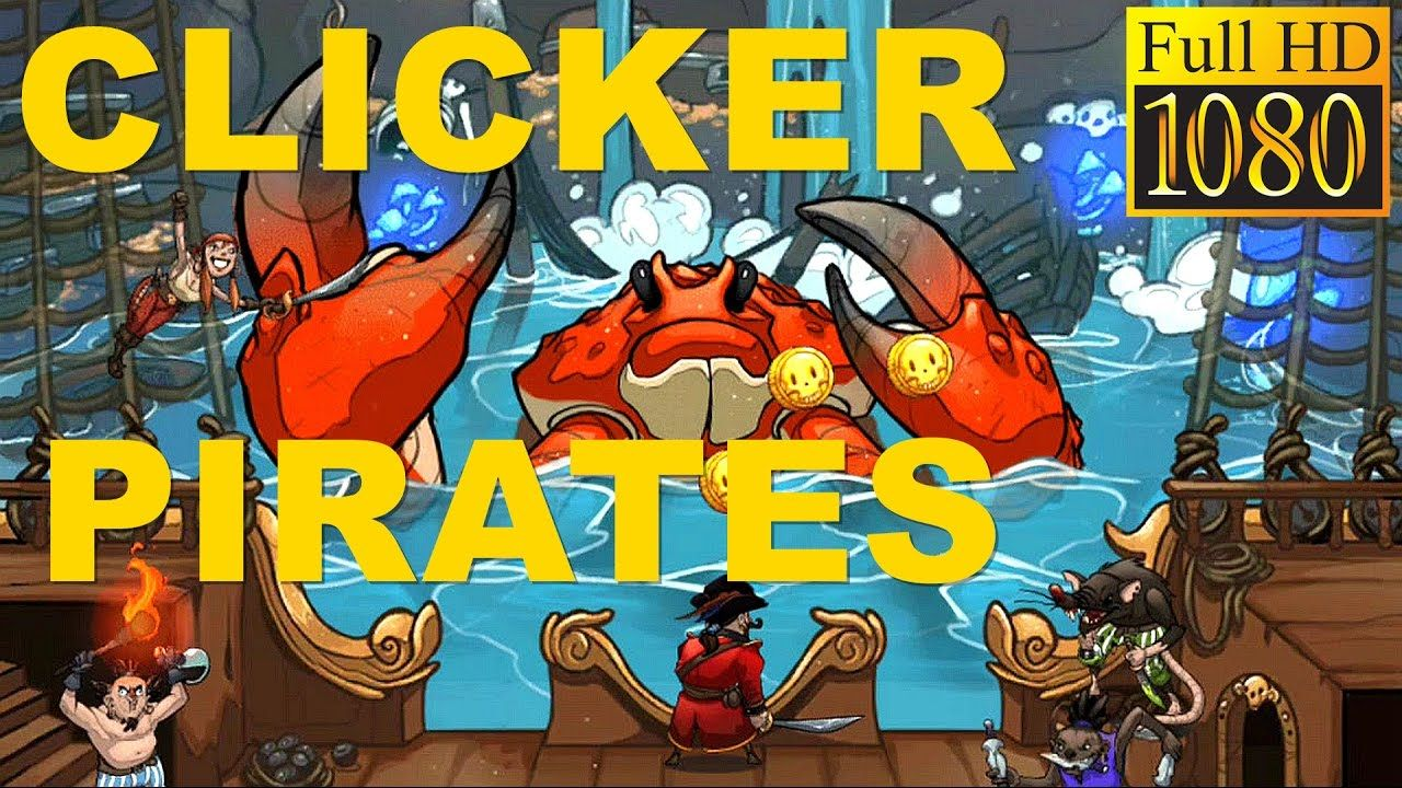 Clicker Pirates Tap to fight Game Review 1080p Official