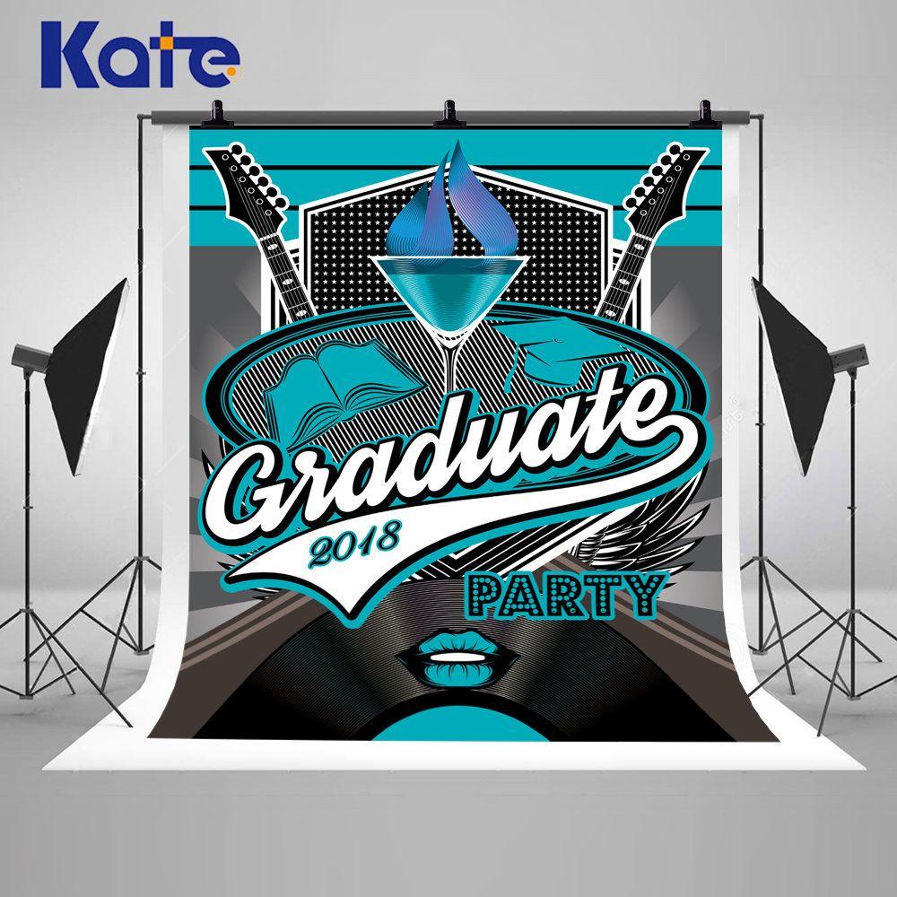 Graduate 2018 Party Banner Photography Backdrops Retro
