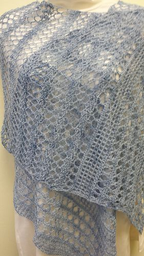 Meridian shawl