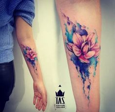 Flower Tattoo Tattoo Ideas Watercolor Tattoo Designs Forearm