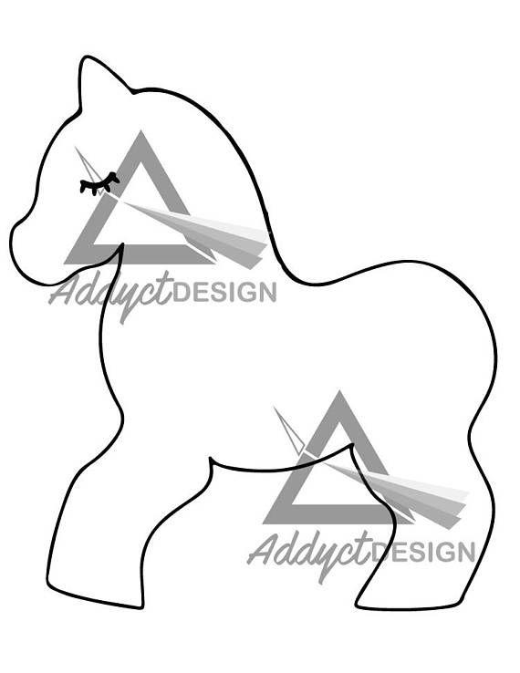 Pinata Unicorn template printable, unicorn vector, pinata unicorn - unicorn template