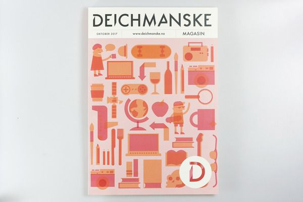 Deichmanske Main Library by Sofie Platou, via Behance