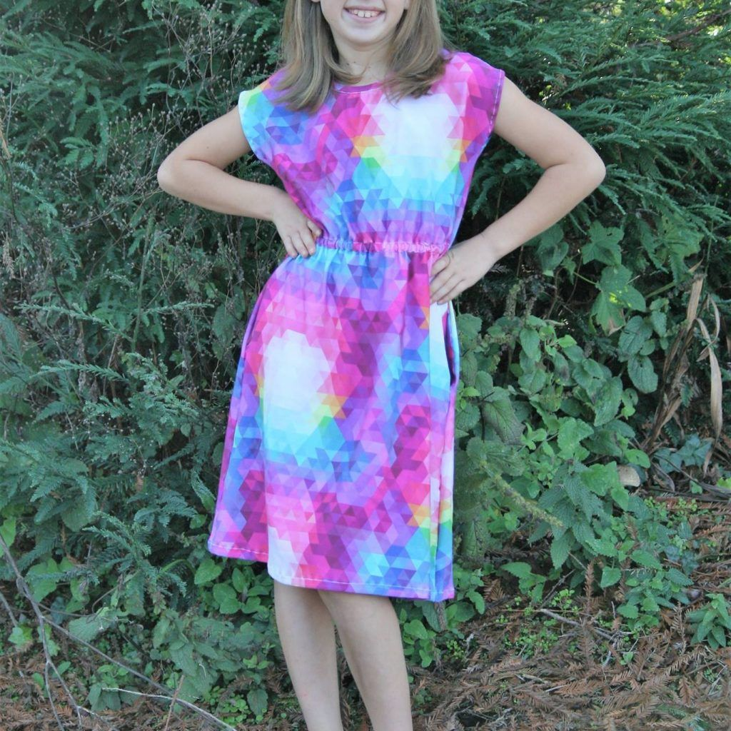 The deer creek tunic and dress pattern is simply beautiful easy to