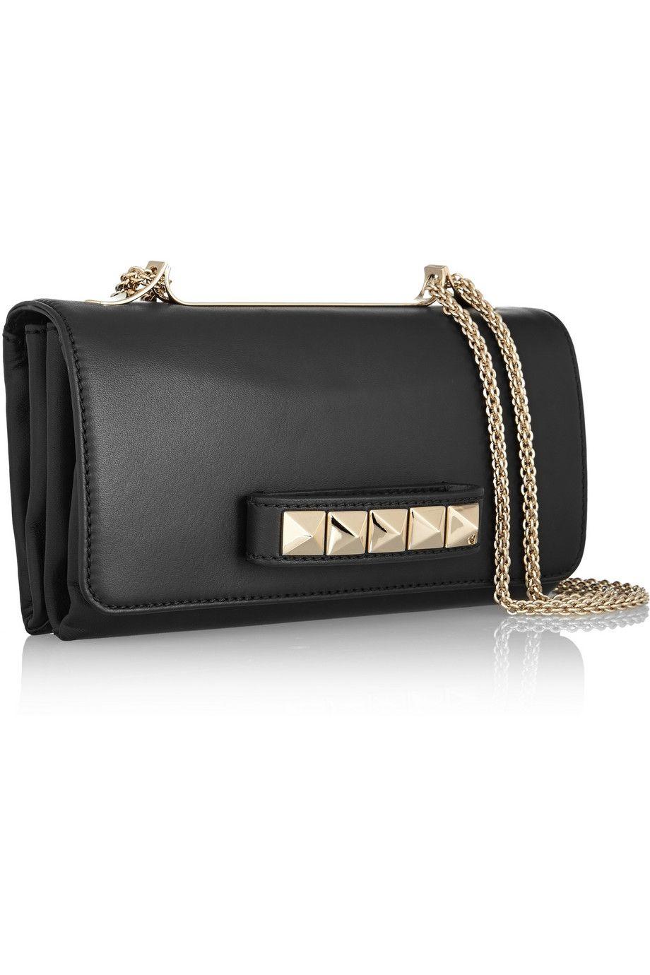 Valentino Pre-owned - Black Leather Handbag Vavavoom 88KyNRspST