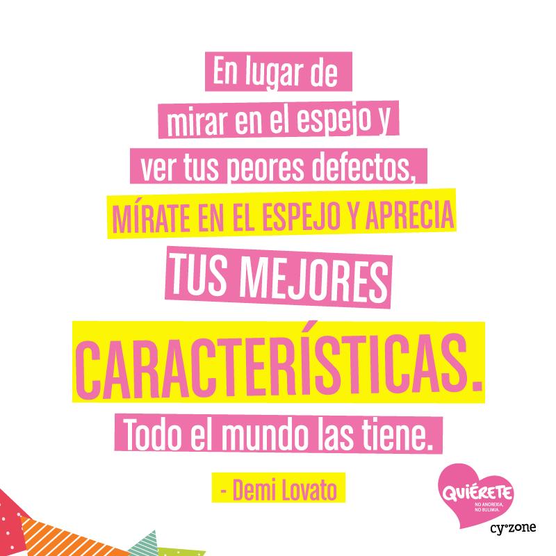 Una quote tan poderosa merece que la vea todo el mundo! #Quiérete - Cyzone