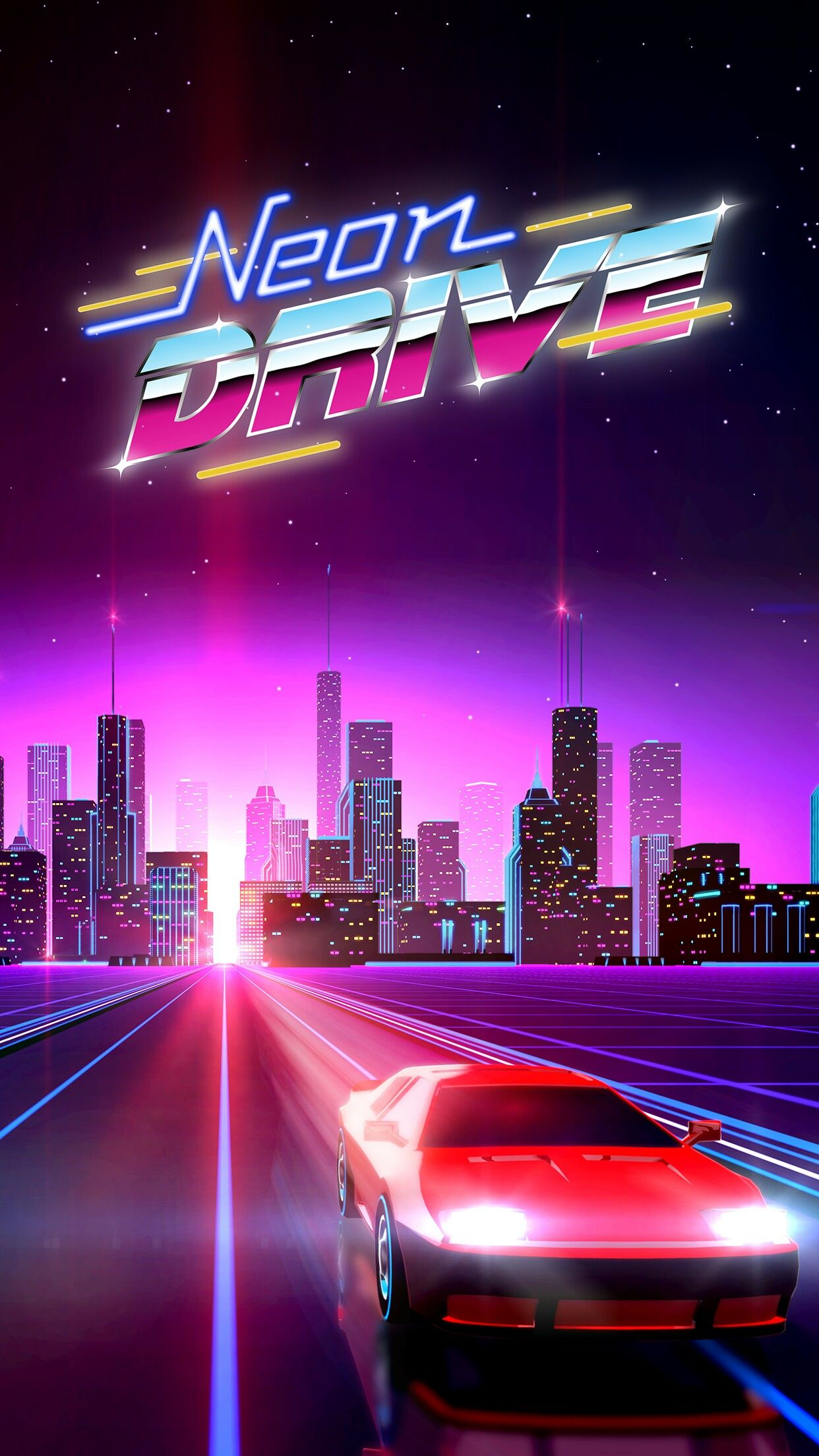 Pin by Chris on I love the 80s | Neon wallpaper, Vaporwave ...