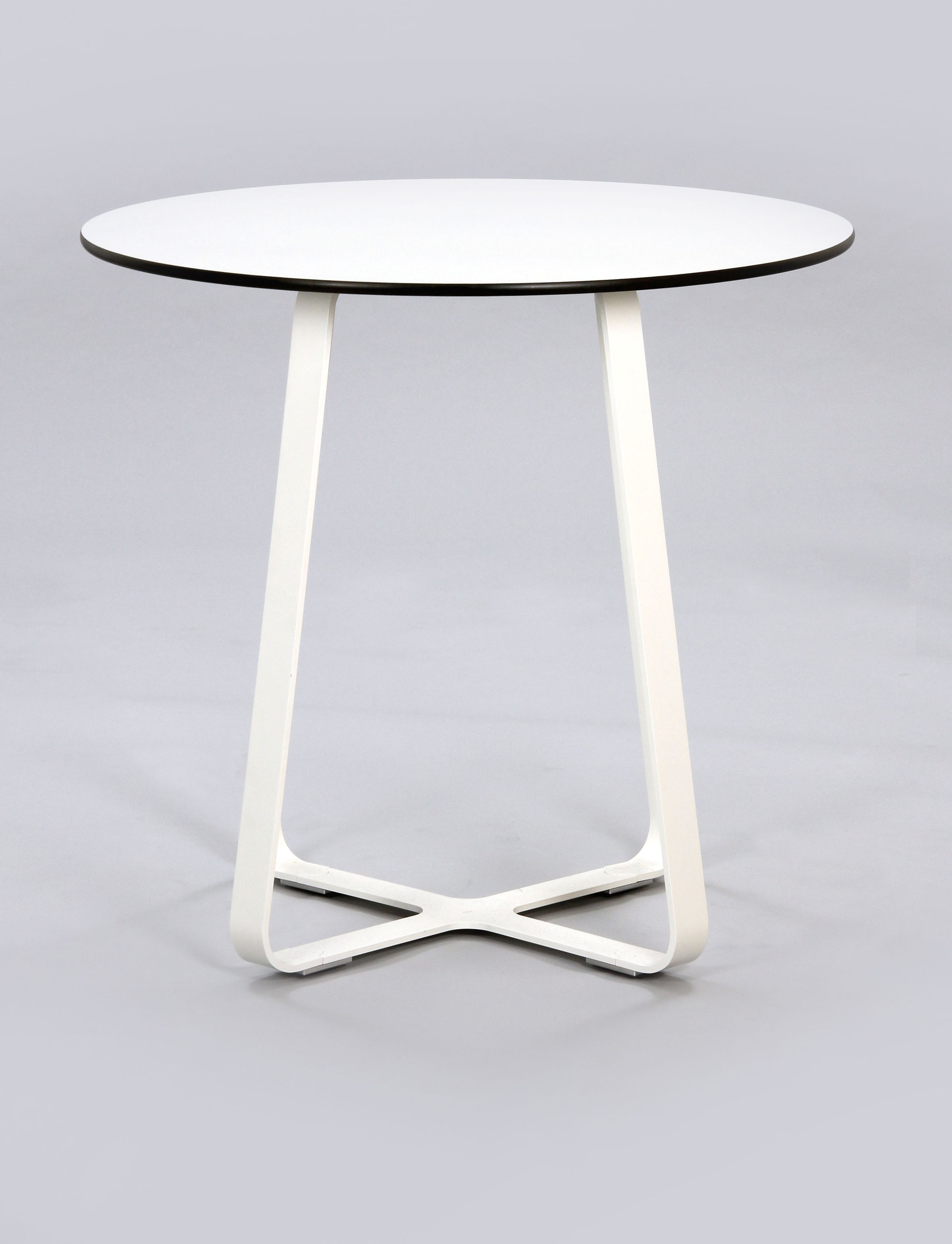 Our Frog Table With A White Frame And White MFMDF Top. We Really Like The
