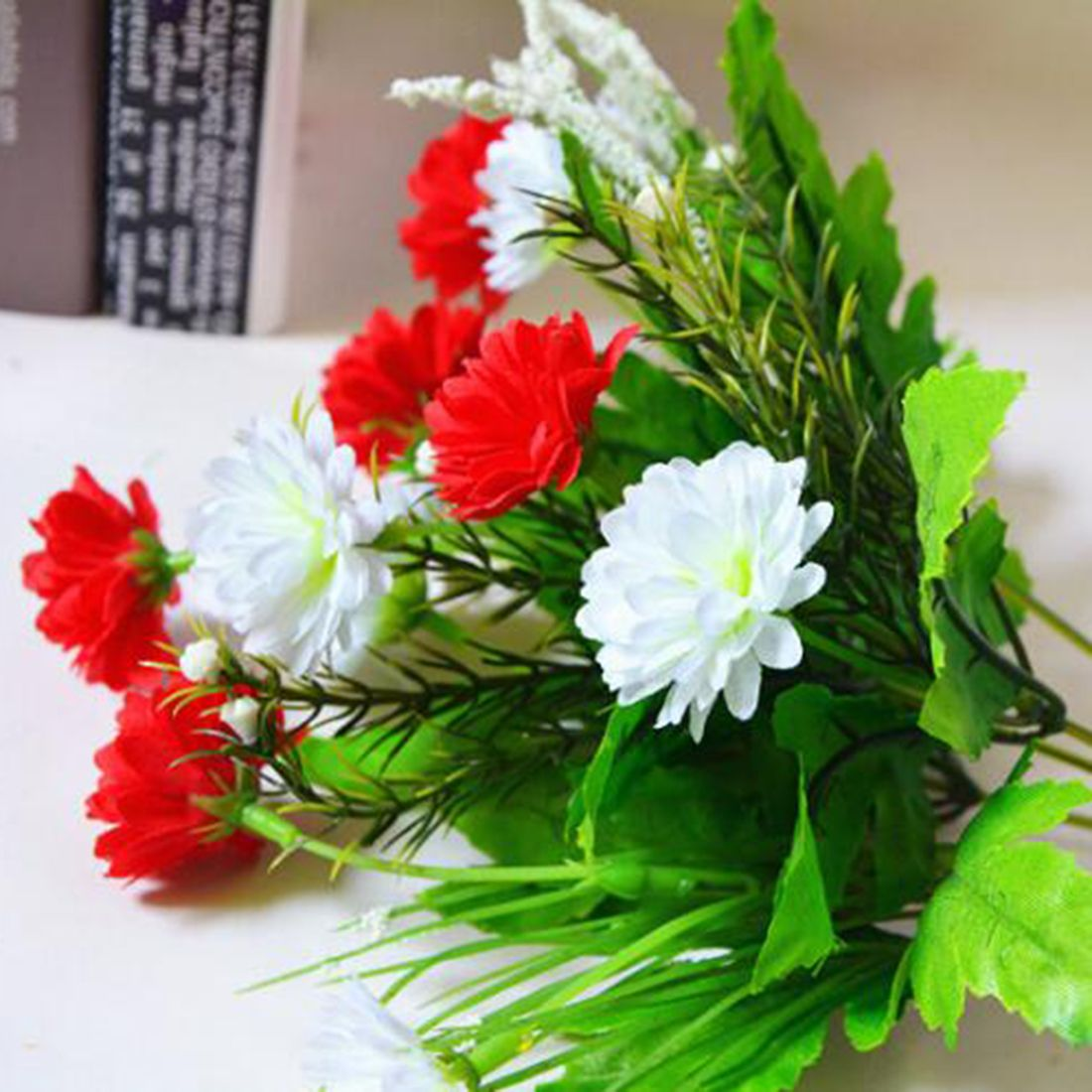 New artificial carnations flowers 5 branches 10 flowers bouquet diy new artificial carnations flowers 5 branches 10 flowers bouquet diy flower mothers day gifts wedding home izmirmasajfo Gallery