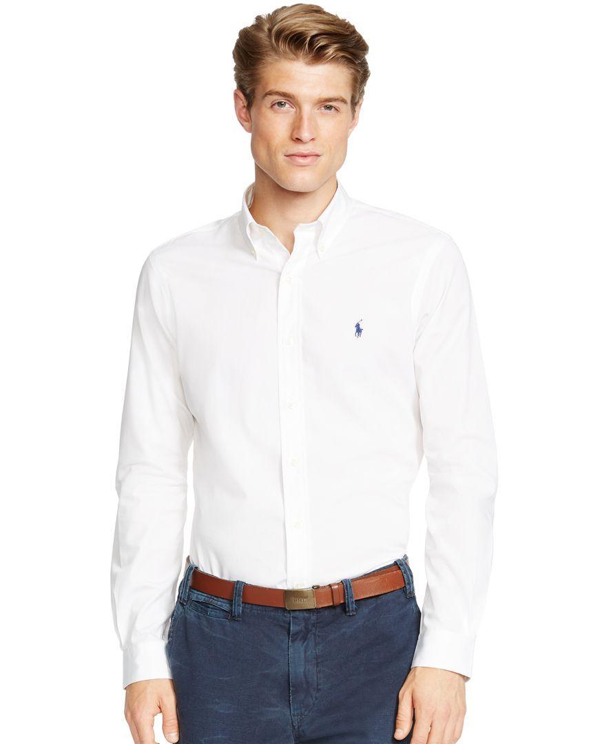 Polo Ralph Lauren Slim-Fit Poplin Shirt