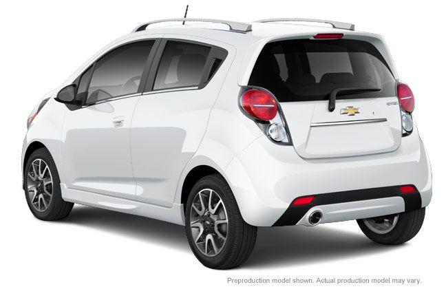 2015 Spark Fuel Efficient Car City Car Chevrolet Spark 2014
