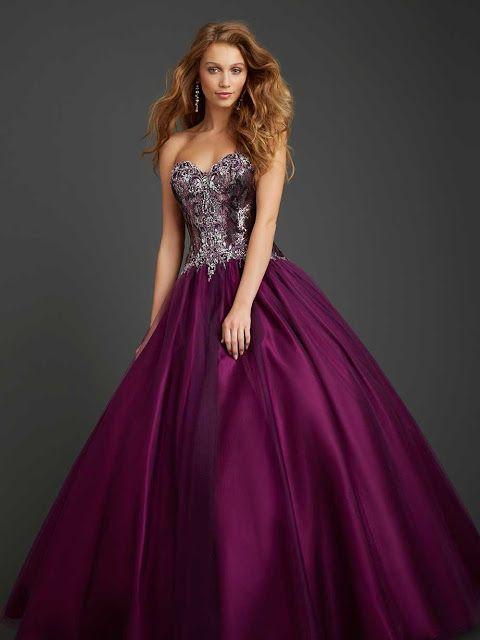 Vestidos de fiesta tipo princesa