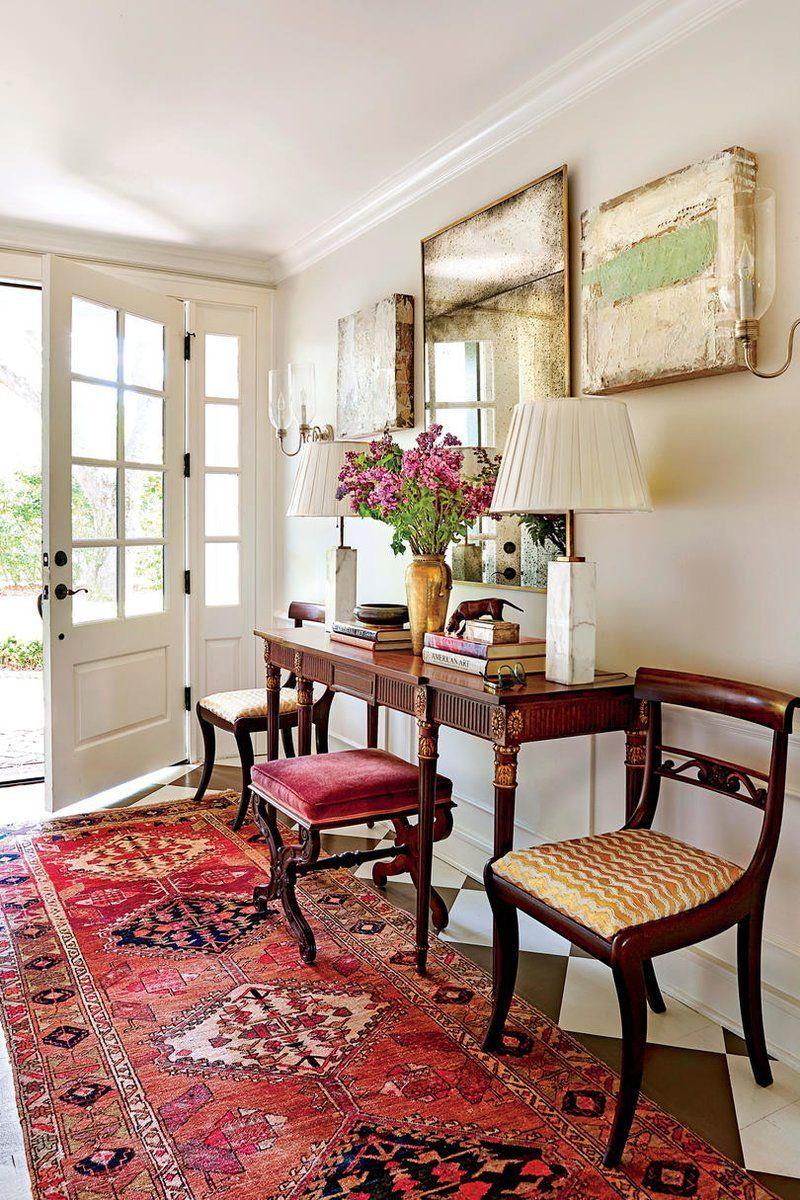 Bold Bright Colors Transformed This James Island South Carolina Ranch House Interior Home Interior