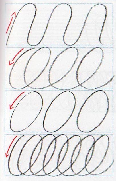 Ejercicios mejorar caligrafía sencillos y fáciles 3 | Plástica ...