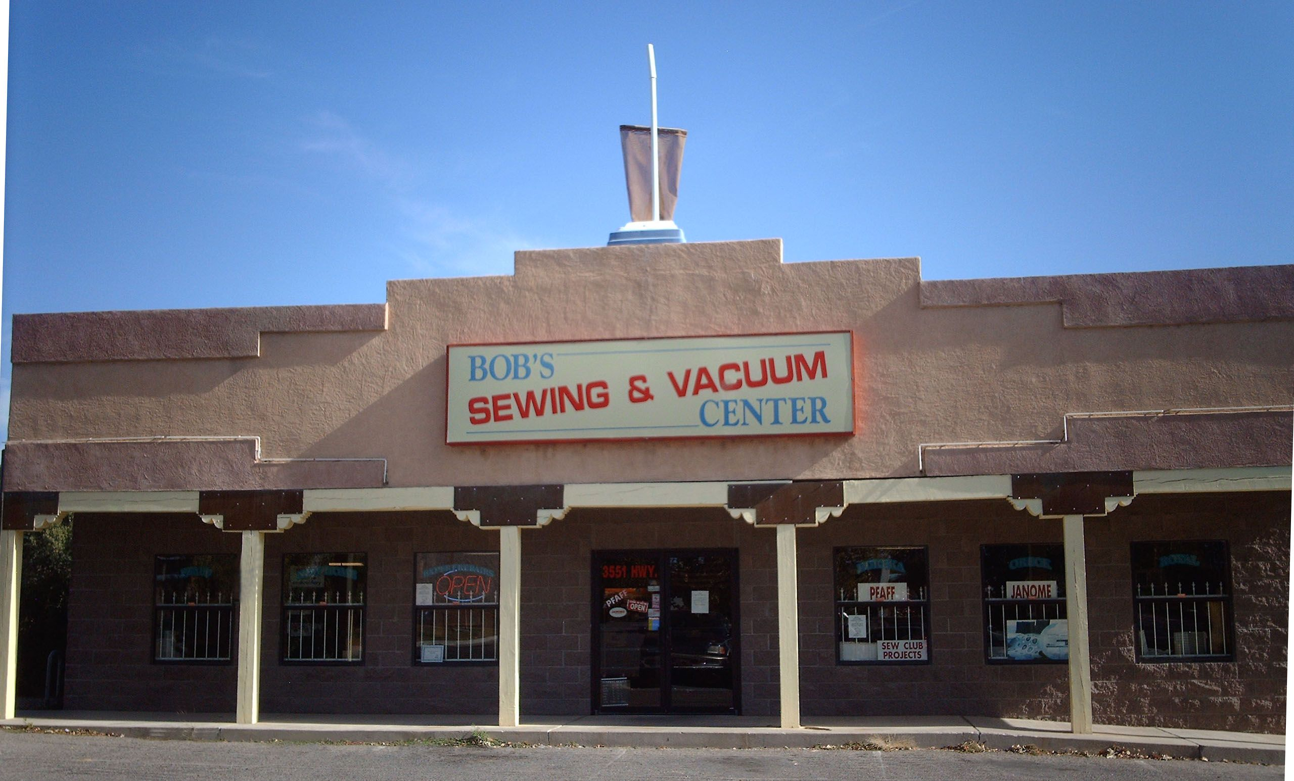 Sewing And Vacuum
