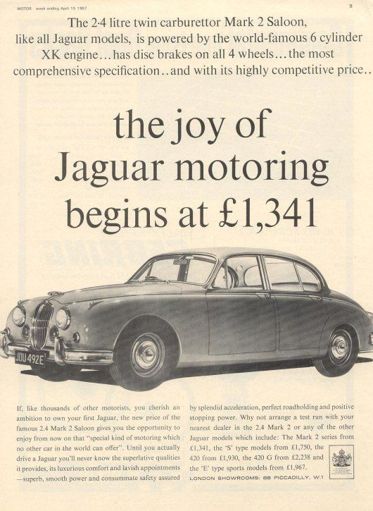 Jaguar adverts
