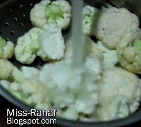 الكرنب المقلي الليبي شوربة العدس Cauliflower Food Vegetables