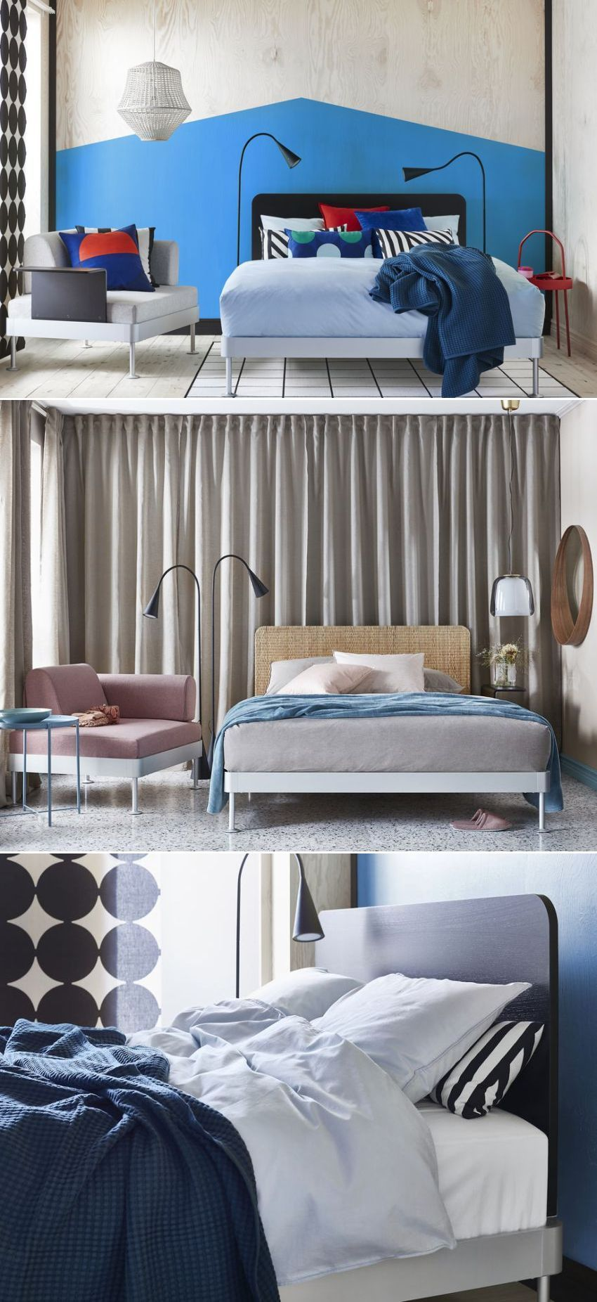 Ikea And Tom Dixon Release Delaktig Customizable Modular Bed Modular Bed Bed Furniture Design