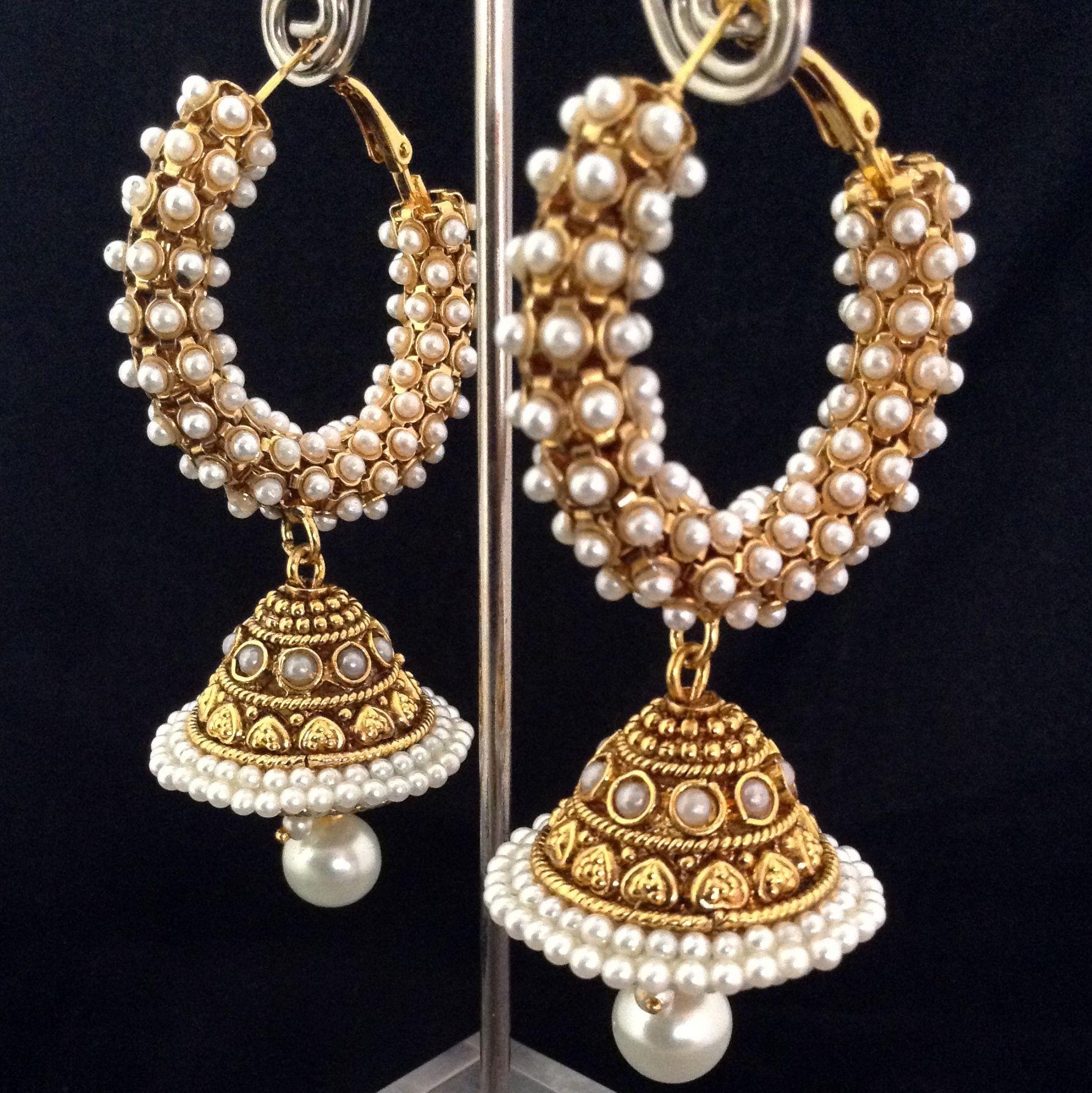 hoop earrings | Luxurious Fashion Jewelry | Pinterest | Pearls ...
