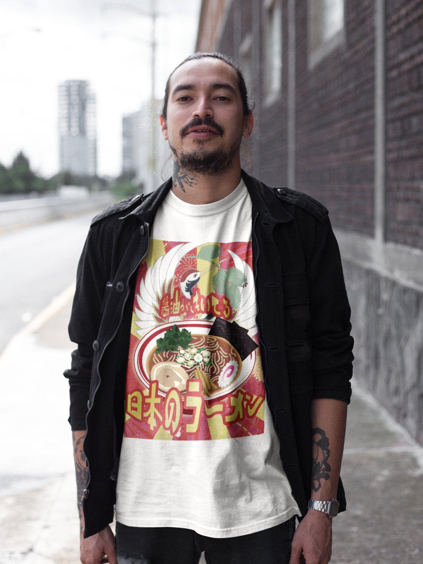 Ramen Lovers TShirt Harajuku fashion, Beautiful shirt