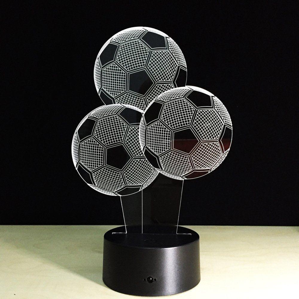 Led Lampe Im Fussball Design Ein Echter Blickfang Im