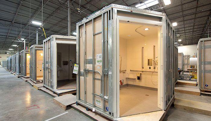 factory fabrication bathroom pod soda ibis competition prefab bathroom prefab homes. Black Bedroom Furniture Sets. Home Design Ideas