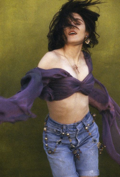 Madonna by Herb Ritts, Like a Prayer photo shoot, 1989