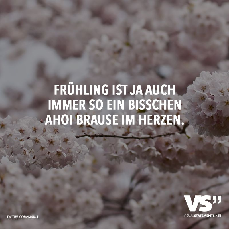 Photo of Frühling ist ja auch immer so ein bisschen Ahoi Brause im Herzen