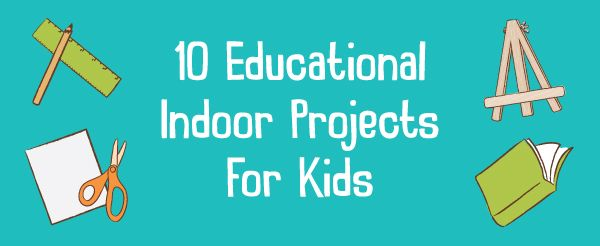 When the weather has closed the door to playing outside, help kids find their stride inside. Whether it's too hot, cold, or damp, kids will appreciate channeling that restlessness into fun hands-on indoor projects that keep their brains and curiosities … Continue reading →