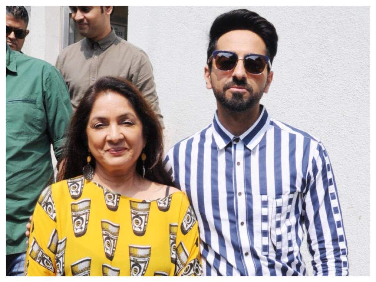 Neena Gupta is all praise for Ayushmann