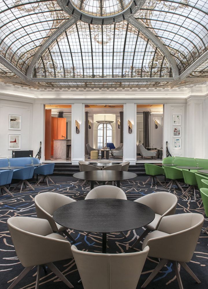 Vernet hotel paris france vintage hotels nel 2019 for Elle decor interni