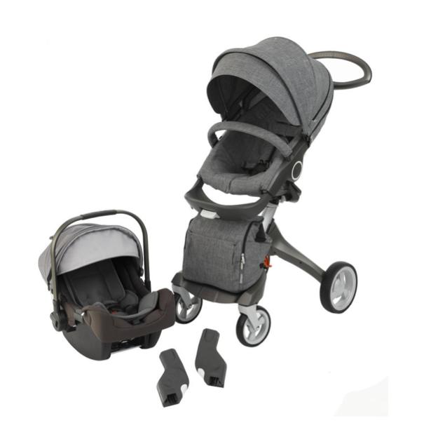 Nuna PIPA Infant Car Seat Stokke Xplory Stroller In Black Melange More Info On Compatibility Adapters