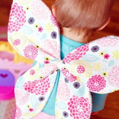 Dress Up Butterfly Wings | Needles and thread make my day! | Pinterest