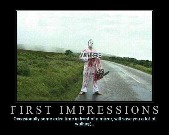 Resultado de imagem para first impression quotes