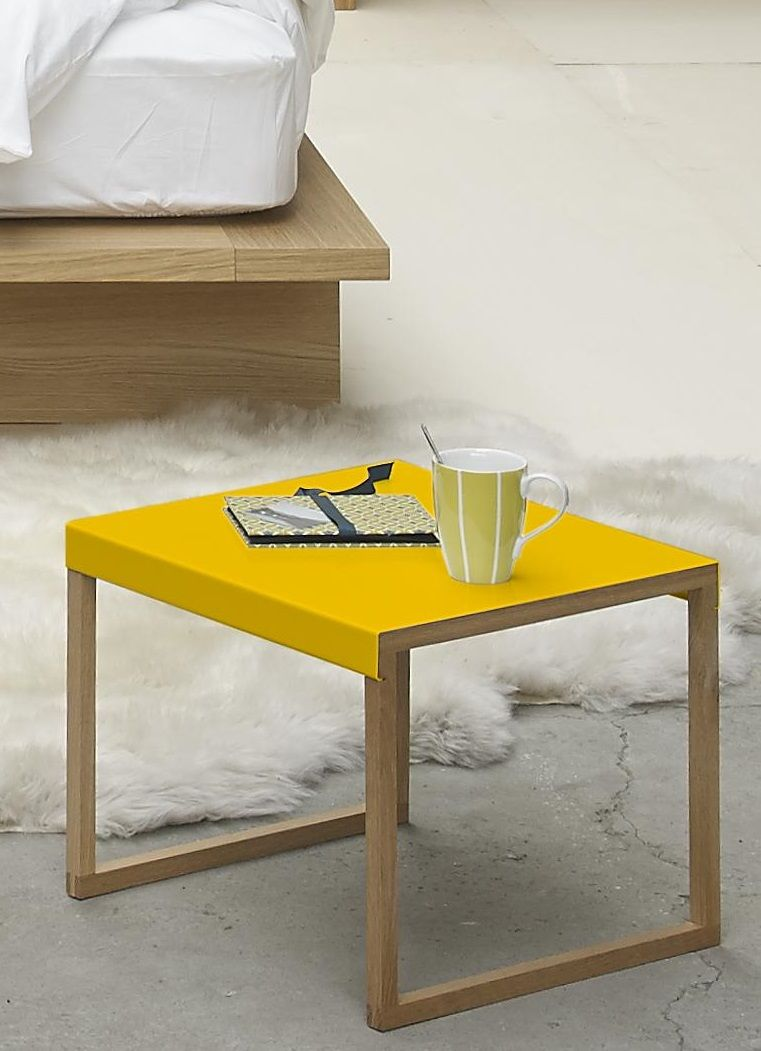 Epingle Sur Habitat Deco Jaune Moutarde