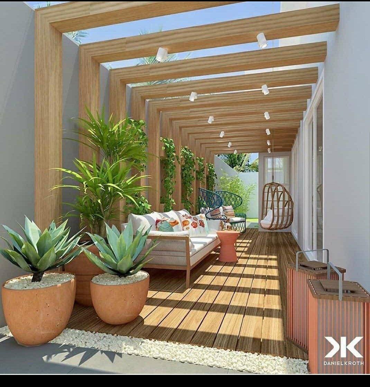 Pin de Martine em Courtyard gardens design em 16  Quintais