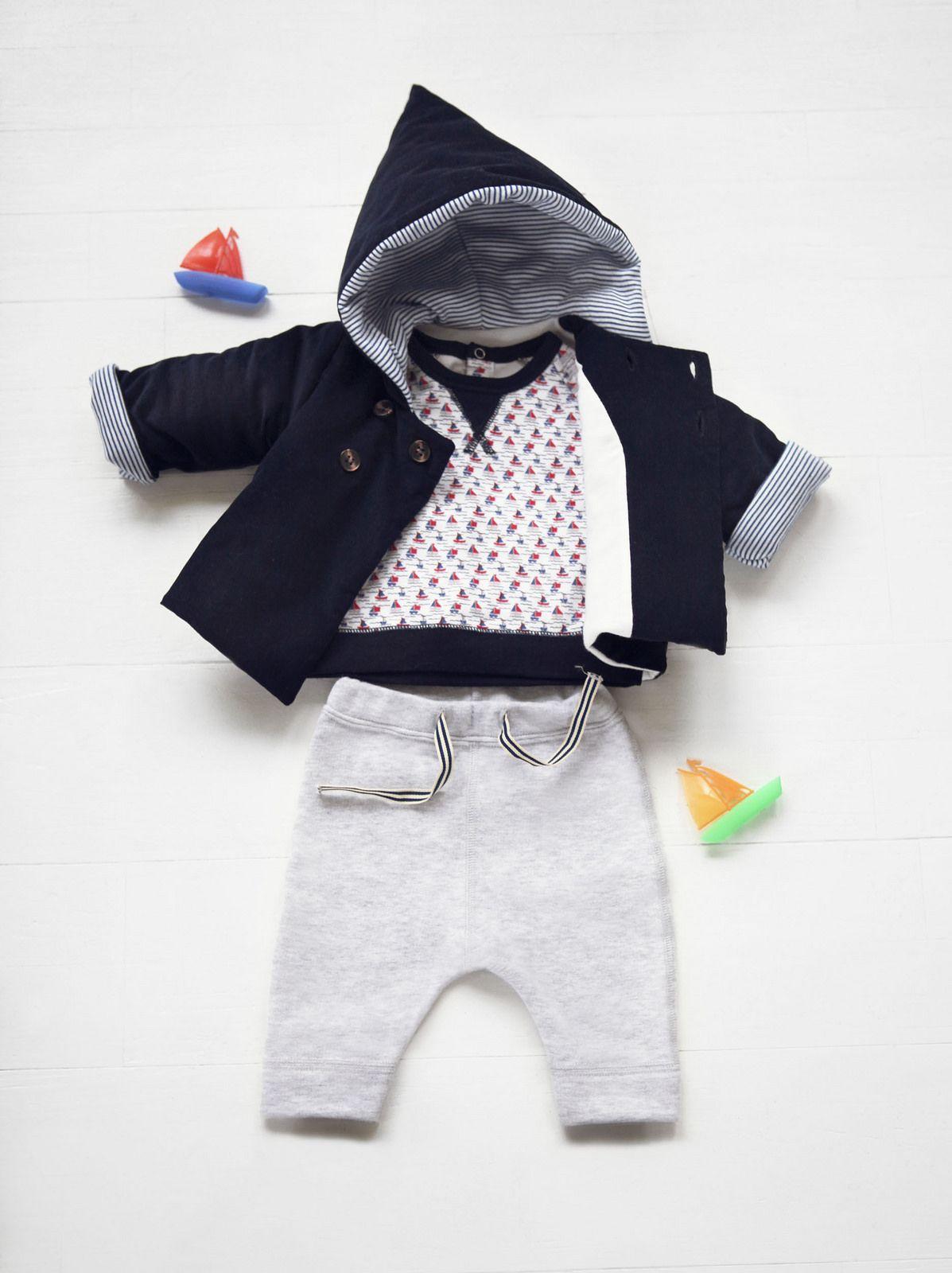 Petit Bateau Little Boys Pants Toddler//Kid