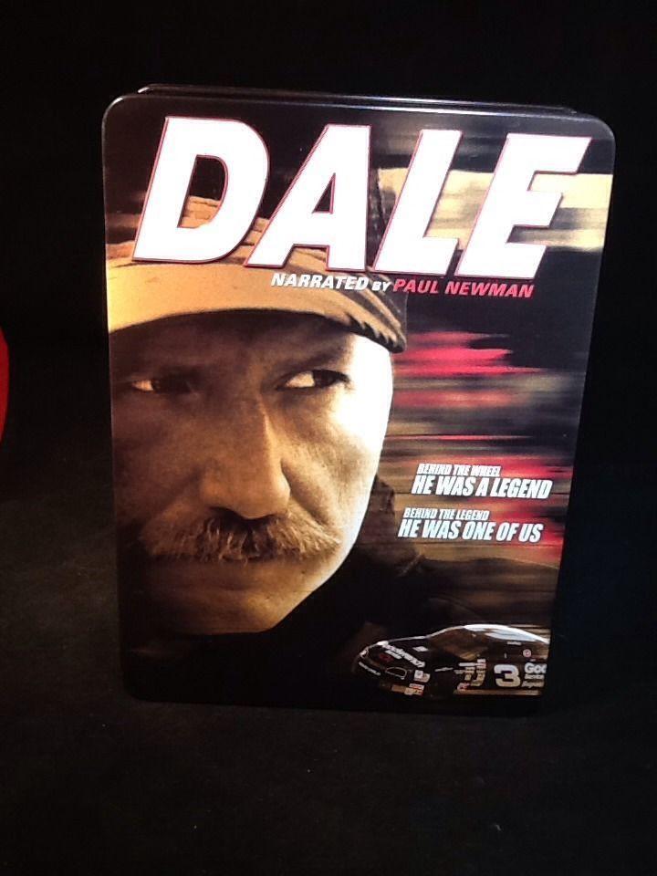 Dale Earnhardt Sr Dale 6 Disc Collector Tin Dvd Set New Dale Earnhardt Dale Jr The Intimidator