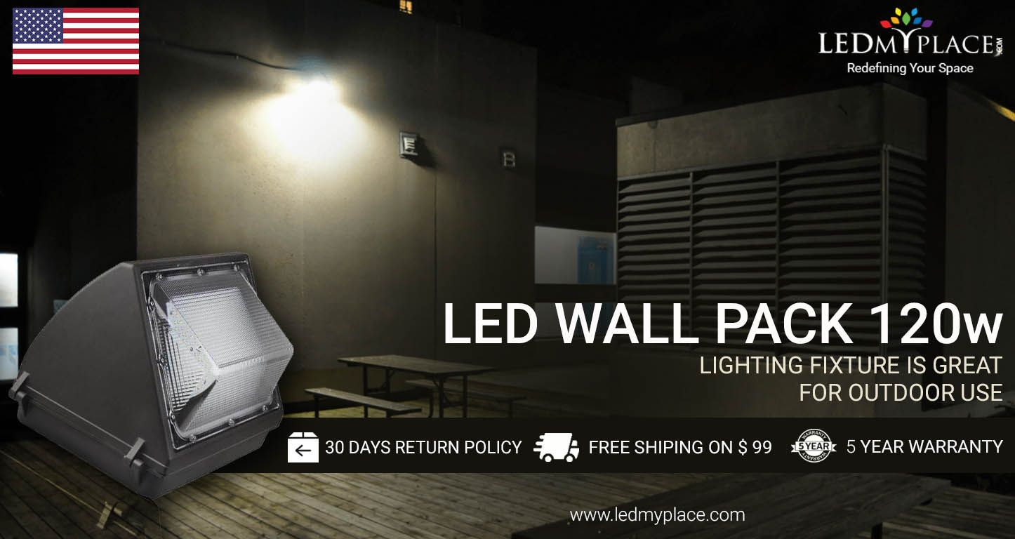 Shop Led Wall Pack 120w From Ledmyplace Save Electrical Bill We Offer Shipping Charges On Every Products Just Order Now Wall Packs Wall Pack Lights Led