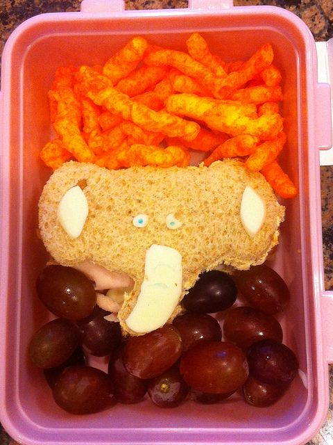 elephant. good idea for kids!