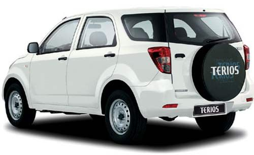 Terios Rear Side Picture 7 Seater Suv Suv Family Suv