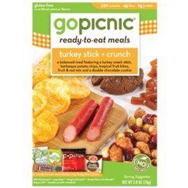 GoPicnic Gluten Free Ready-to-Eat Meals Turkey Stick ...
