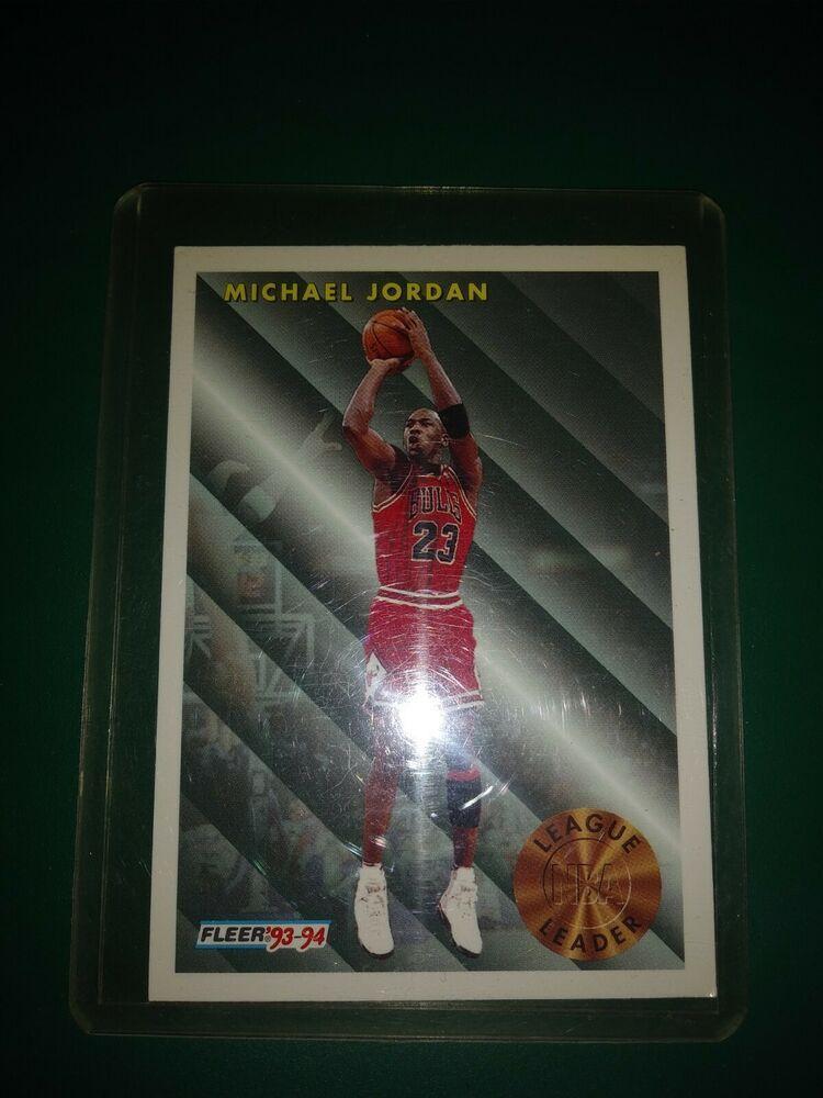 199394 FLEER MICHAEL JORDAN LEAGUE LEADERS LL 224 BGS 8