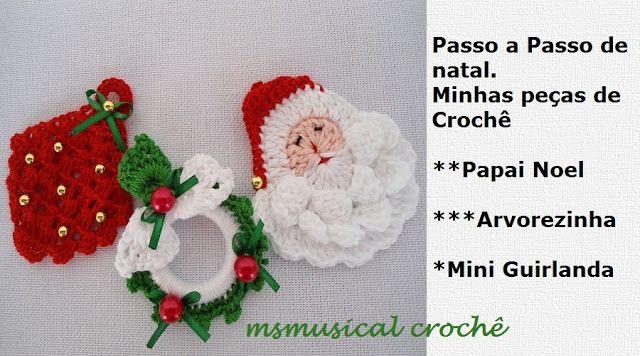 msmusical: PAP CROCHE PAPAI NOEL