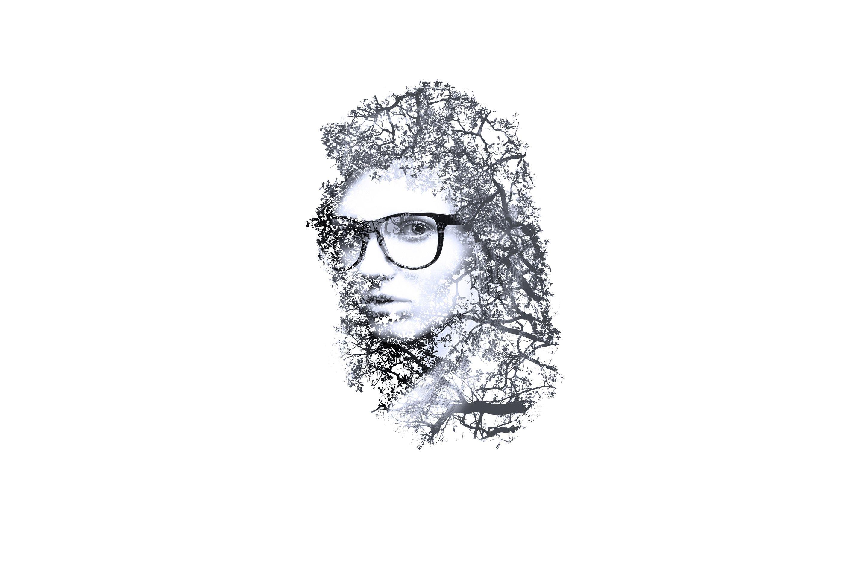 Line Art Effect Photoshop Tutorial : Artistic minimal girl wallpaper hdwallpaperfx pinterest