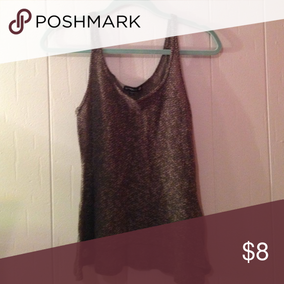 Cotton On tank top Cotton On tank top dark green slightly see through great condition Cotton On Tops Tank Tops